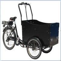 무료 배송 크리스마스 프로모션 다양한 색상 핫 세일 전기 페달 식품 자전거화물 세발 자전거 운반 어린이 카트