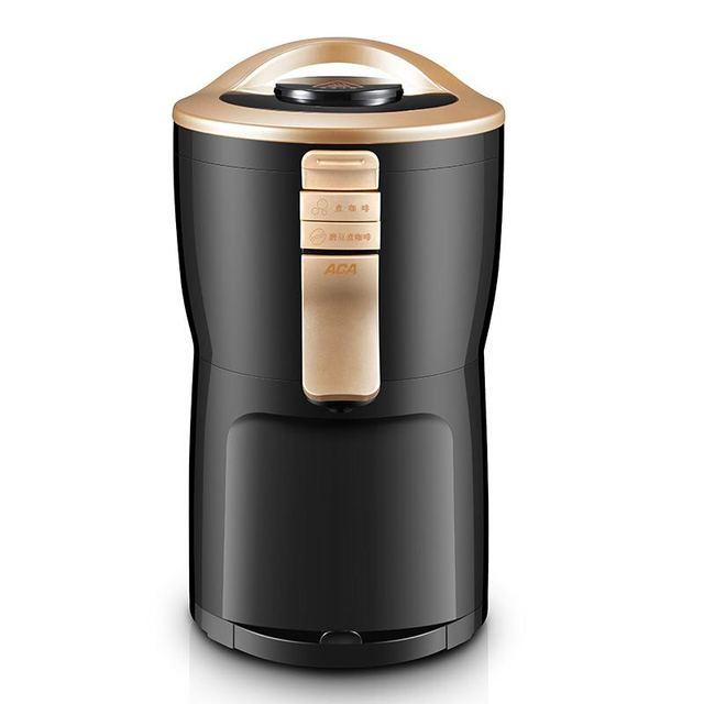 600 واط التلقائي بالكامل الأمريكية ماكينة القهوة صانع طاحونة المنزلية المحمولة الصغيرة طحن القهوة ، مسحوق الفول والشاي 5