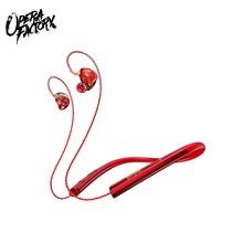 OHPRO اللاسلكية بلوتوث سماعة حول الرقبة سماعات الرياضة سماعة HiFi ستيريو سماعات الأذن ل شاومي آيفون سامسونج