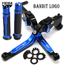 FOR SUZUKI GSF 250 GSF250 BANDIT A11 YEARS 2018 2019 Motorcycle Adjustable Foldable Brakes Clutch Levers Handlebar hand grip end