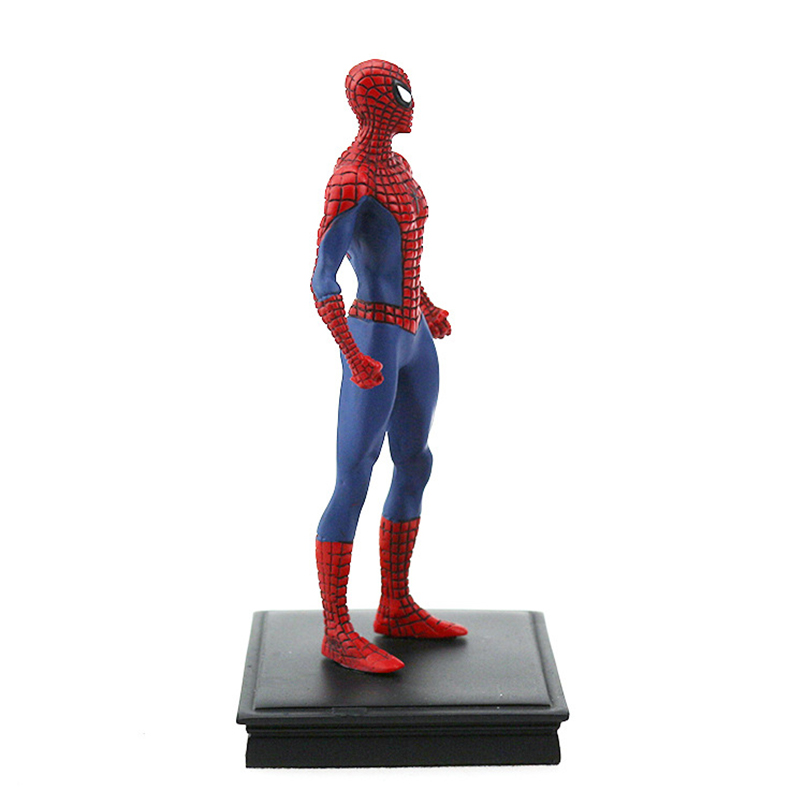 12cm super hero homecoming Spider man PVC Action figure toys Spider man staute Decoration collectible model Toys kids gift in Action Toy Figures from Toys Hobbies