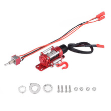 Winch SCX10 Cars Electric for D90 D110/Tf2/Km2 Cnc-Machining-Rc-Accessories 1:10 Rc-Crawler