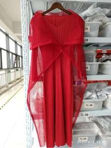 Image 5 - LANMREM 2020 새로운 가을 이른 여자의 pleated 빈티지 pleated elatic 풀 슬리브 칼라 풀오버 두 조각 WH68203