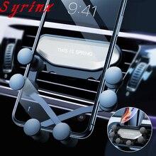 Новинка, универсальный автомобильный держатель для телефона, gps подставка, гравитационная подставка для телефона в машине, подставка без магнита для iPhone X 8, поддержка Xiaomi