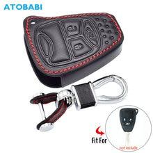 Car-Key-Case Remote-Fob-Cover Wrangler Patriot Grand Cherokee Keychain-Holder Compass