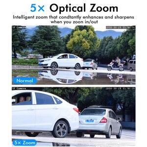 Image 2 - Hiseeu Mini PTZ IP Camera High Speed Dome Camera IP 1080P 5X Optical Zoom 2MP Outdoor Waterproof CCTV Video Surveillance ONVIF