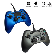 Wired Joystick for PS4 Controller For Playstation Dualshock 4 Vibration Gamepad PS3 PC Switch Android TV Box