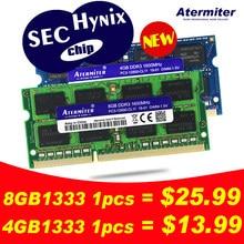 Nuevo 2GB 4GB 8GB 2G 4G 8G PC3L PC3 DDR3 1066Mhz 1333hz 1600Mhz 12800 de 10600 a 8500 la memoria del ordenador portátil Notebook RAM Hynix Chip segundo Chip