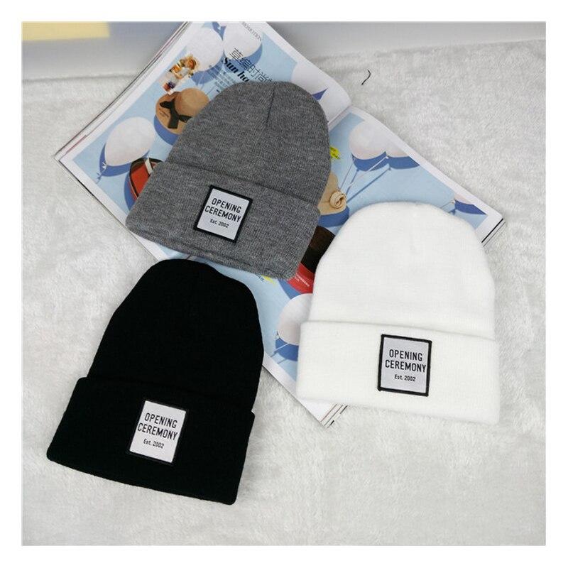 Купить зимняя женская шапка с логотипом бэнни однотонные шерстяные