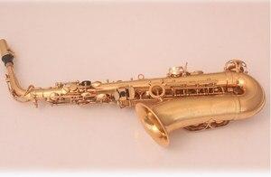 Image 3 - Nieuwe hoge kwaliteit instrument De altsax Golden altsaxofoon en case