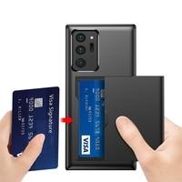 Funda deslizante 2 en 1 para teléfono Samsung Galaxy Note 20 Ultra S20 S20Ultra note20 20 ultra S10 9