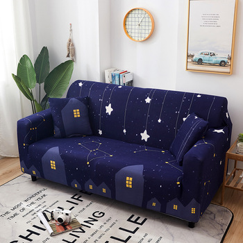 Printing Sofa Cover  All-purpose Simple Elastic Universal Sofa Cover Leather Sofa Cushion One Set of Full Cover cover cover co169 01