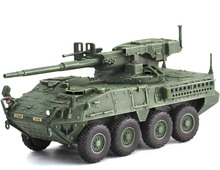 fine  1:72  The system model of M1128 mobile gun in the US Army  Collection model