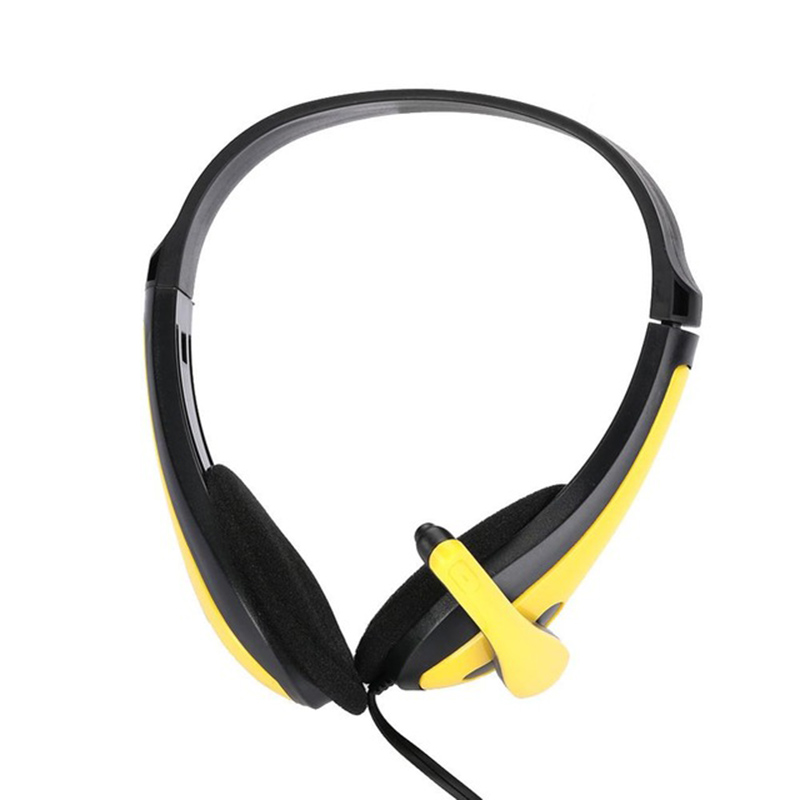 3.5mm Gaming Headphones Wired Headset Stereo Type fashion music <font><b>Earphone</b></font> Computer Gamers Headset <font><b>With</b></font> <font><b>Microphones</b></font> Headset image