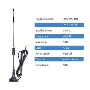Image 2 - 2 stücke 4G Wifi Antenne 3G GSM LTE Magnetische Router Internet Antenne für Kommunikation Sma Omni Antena luft TX4G XPL 300