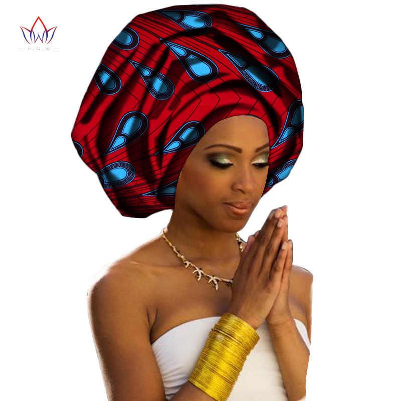 100% כותנה אפריקאי שעוות סרט האפריקאי דאשיקי נשים אוטומטי ניגרית Gele Headtie האסלאמי צעיף נשים ראש צעיפי Kopftuch