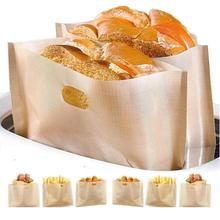 Toaster-Bags Zero Reusable Travel 20pcs Grilled Non-Stick Pizza Easy-Clean Heat-Resistant