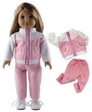 Hot 1 PCS Diferentes Cores e Estilos de Roupas de Boneca para 18 polegada Boneca Americana Bitty Baby Doll A03