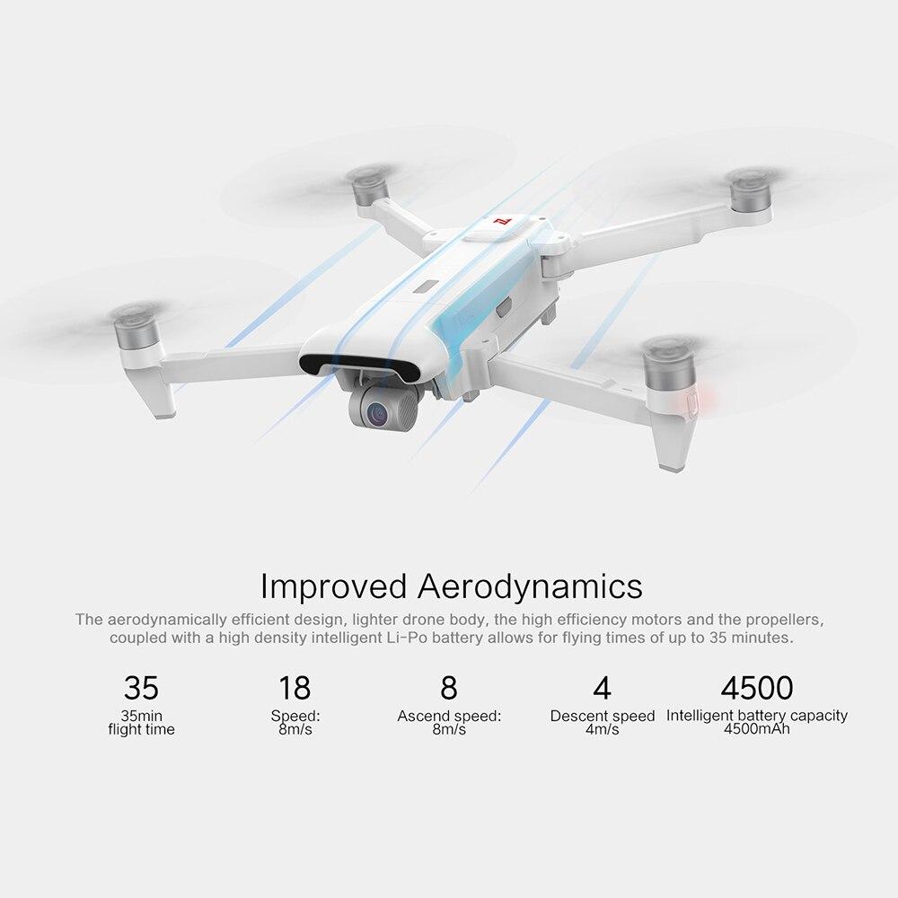 Original FIMI X8 SE RC 2020 Drone mit 3-achsen Gimbal 4K HD Kamera 5KM FPV 33 minuten Flug RTF Batterie Landung Teile