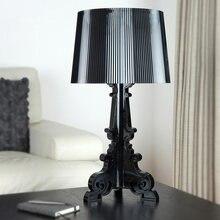 Акриловая настольная лампа Хрустальная прикроватная светодиодная