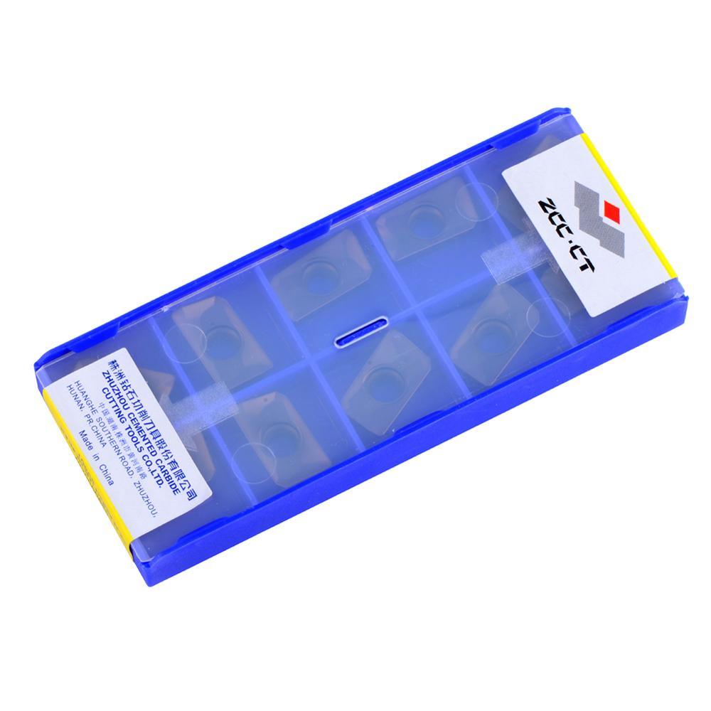 10 pz / lotto APMT160408 ZCC APMT 160408 YBG202 utensili da taglio - Macchine utensili e accessori - Fotografia 5