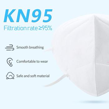 1/10/50pcs KN95 Masks Non-woven Mouth Mask Anti-dust Safety Protective KN95 마스크 マスクFace Cover Anti Flu