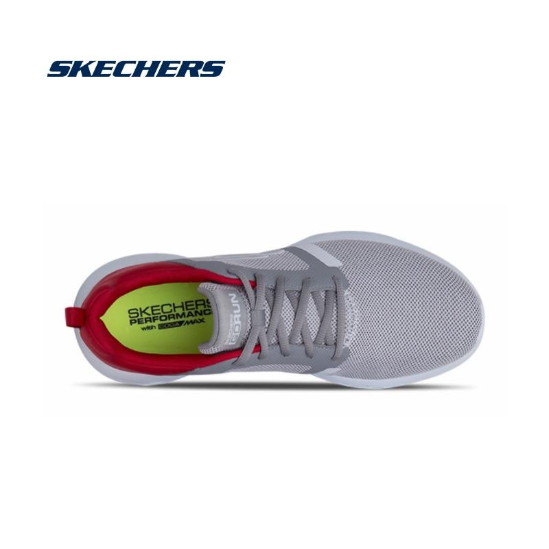 Skechers Men Casual Shoes GORUN Light Hardwearing Shoes Men Original Brand Luxury Walking Shoes High Quality 55069-GYRD