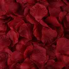 5--5cm Rose-Petals Wedding-Accessories Romantic Artificial Silk for 20-Colors 100pcs/Lot