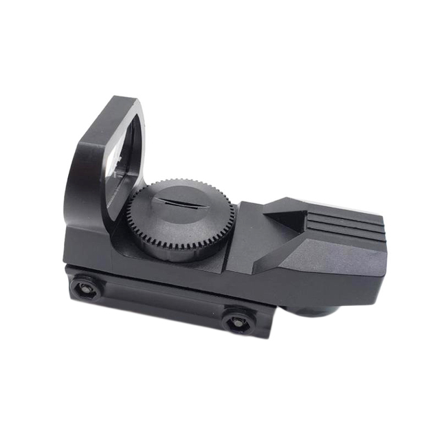 20mm Rail Riflescope Hunting Optics Holographic Green Dot Sight Reflex 4 Reticle Tactical Scope Collimator Sight Plastic Toy 2