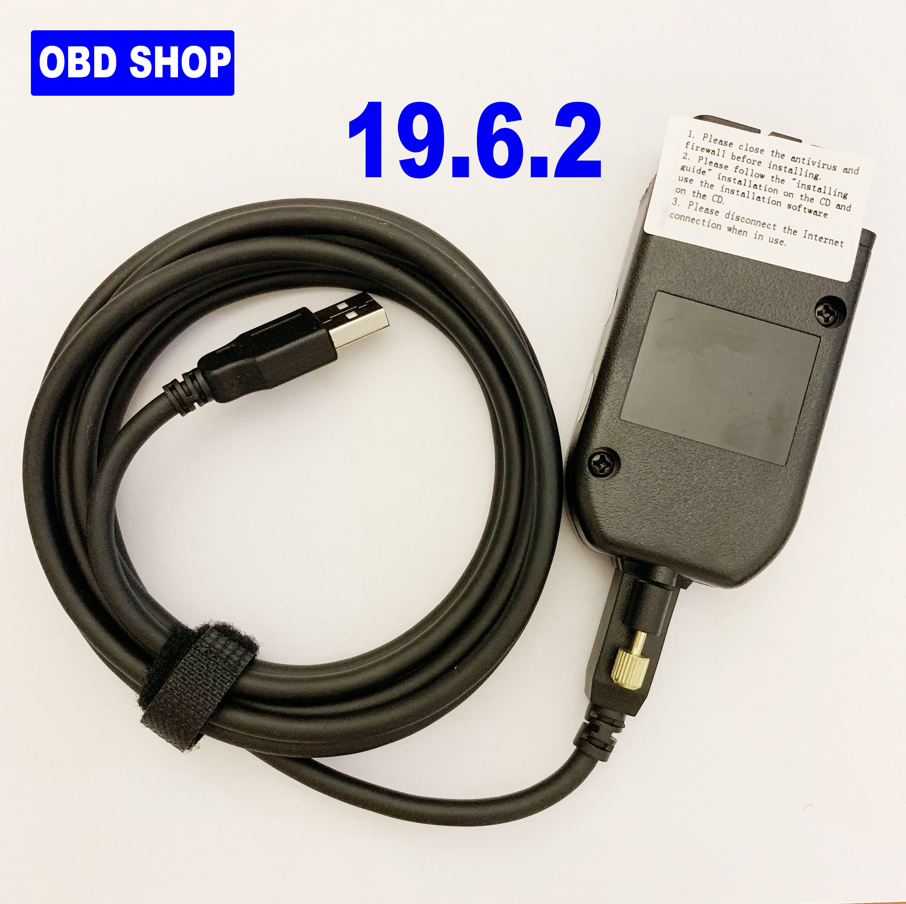 Electrical Testers General OBDII 16Pin Diagnostic Cable 19.6.2 Interface 2nd ATMEGA162+16V8B+FT232RQ