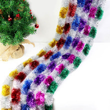 Garland Hanging-Weaved Christmas-Tree Home-Decor Wreath Foil for DIY Tinsel