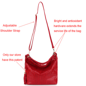 Image 4 - Gold Fashion Women Leather Handbags Female Shoulder Bag Ladies Hand Bags Purses and Handbags Large Crossbody Bag for Women 2020