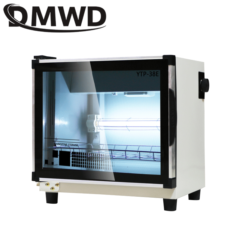DMWD Ultraviolet Household Sterilizing Cabinet Beauty Ozone Towel Disinfection Cabinet Salon Nail Disinfection UV Disinfection