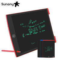"Sunany 12"" LCD Writing Tablet Portable ultra-thin Handwriting Pads Writing Board Message Graphics Board for Children"
