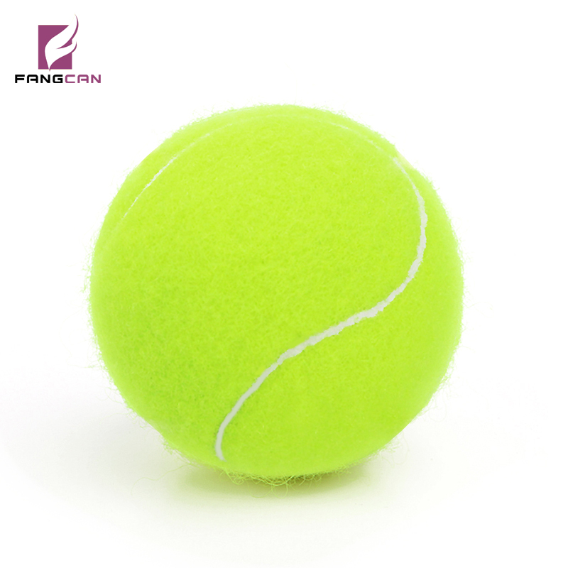 Professional Rubber Dog Tennis Ball High Resilience Durable Tennis Practice Ball For School Club  Training Exercises