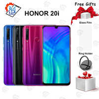 "Téléphone portable Global Honor 20i 6.21 ""6 GB RAM 64/128GB ROM Kirin 710 Octa core Octa core 20MP caméra Android 9.0 Smartphone"