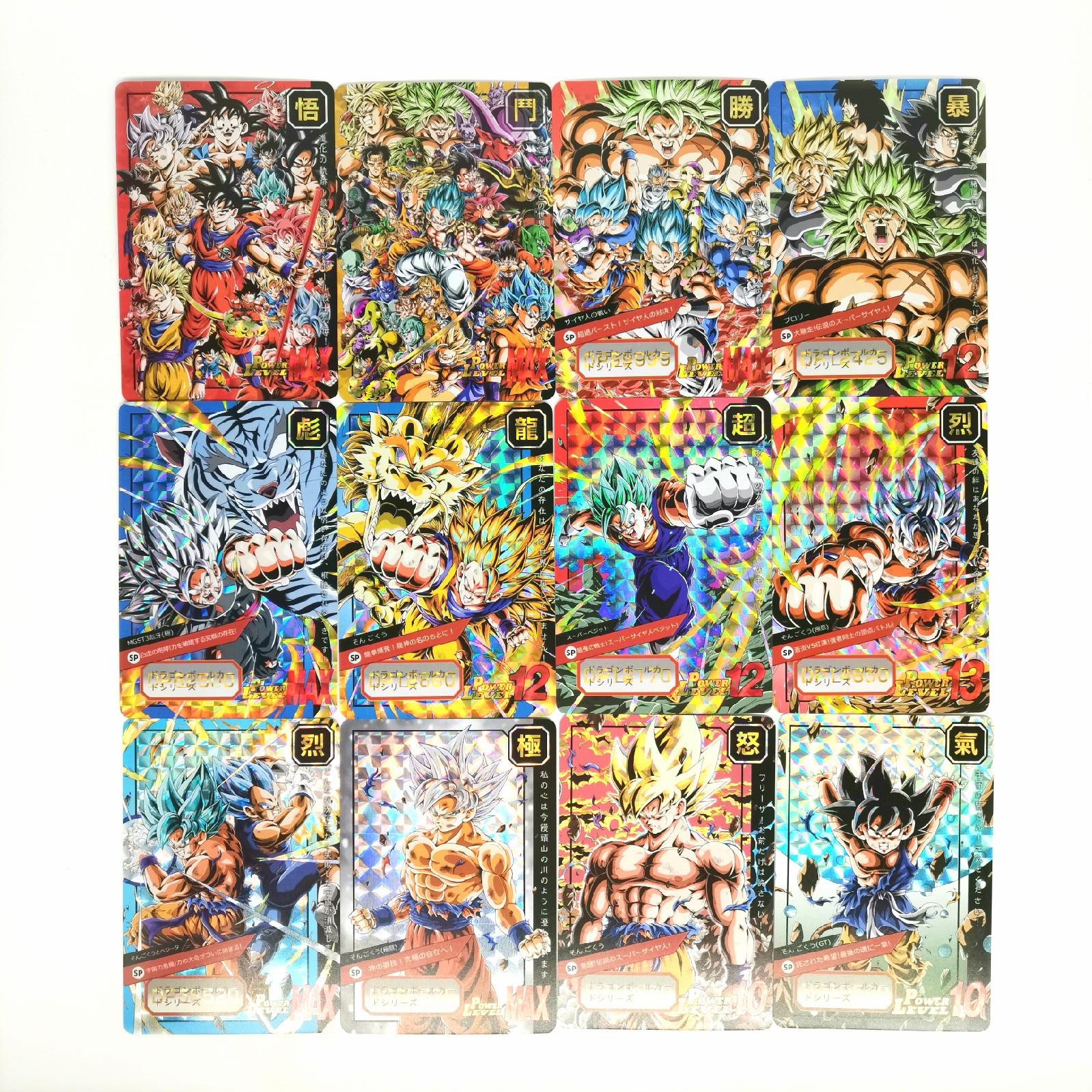 New 29pcs/set Super Dragon Ball Z Heroes Battle Card Ultra Instinct Goku Vegeta Game Collection Cards