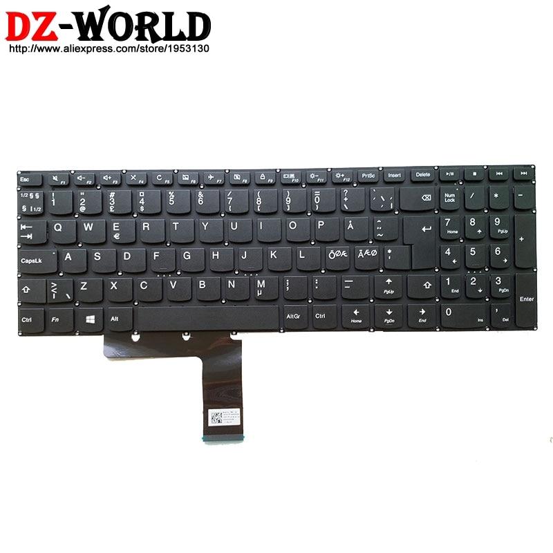 New Nordic Keyboard For Lenovo 310-15ISK IAP IKB ABR 510-15ISK IKB V310-15ISK IKB E52-80 V110-15ISK AST IKB V510-15IKB Laptop