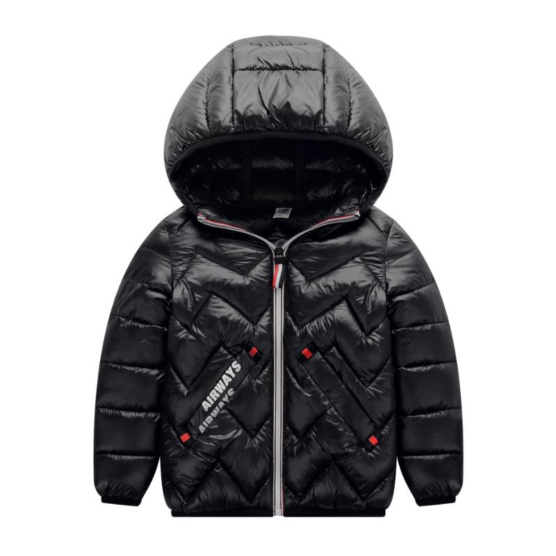 2019 New Arrival Sale Polyester Regular Children <font><b>Jacket</b></font> Outerwear Boy And Girl Autumn Winter Coat Teenage Parka <font><b>Kids</b></font> 3-10years image