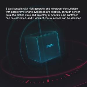 Image 5 - Aqara 매직 큐브 컨트롤러 Zigbee 버전은 스마트 홈 장치 TV 스마트 소켓을위한 전화 app로 6 가지 동작을 제어했습니다.
