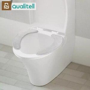 Image 1 - Youpin Qualitell 따뜻한 부드러운 빨 수있는 변기 커버 매트 홈 장식에 대 한 설정 Closestool 매트 좌석 케이스 화장실 뚜껑 커버 Accessori