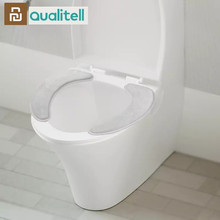 Youpin Qualitell Warm Soft Washable Toilet Seat Cover Mat Set for Home Decor Closestool Mat Seat Case Toilet Lid Cover Accessori