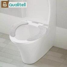 Youpin Qualitell chaud doux lavable siège de toilette couverture tapis ensemble pour décor à la maison Closestool tapis siège étui toilette couvercle couverture Accessori