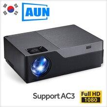 Aon Full HD 1080P проектор M18UP, 5500 люмен, Android 6,0 wifi Bluetooth видео проектор для 4K домашнего кинотеатра(опционально M18 AC3