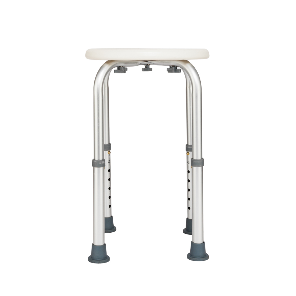 7 Levels Height Adjustable Shower Seat Aluminum Bath Chair For The Disabled Elderly Bathroom Shower Stool SKU61684240