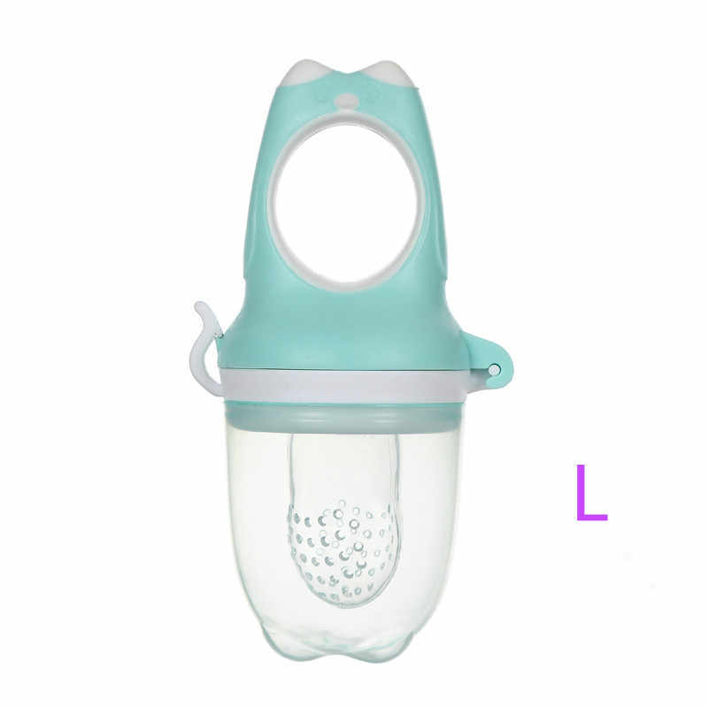 นกฮูกประเภทผลไม้สดอาหาร Nibbler จุกนมสำหรับทารกจุกนมเด็กให้อาหารเด็กปลอดภัยซิลิโคนนม Feeder Baby Pacifier ขวด