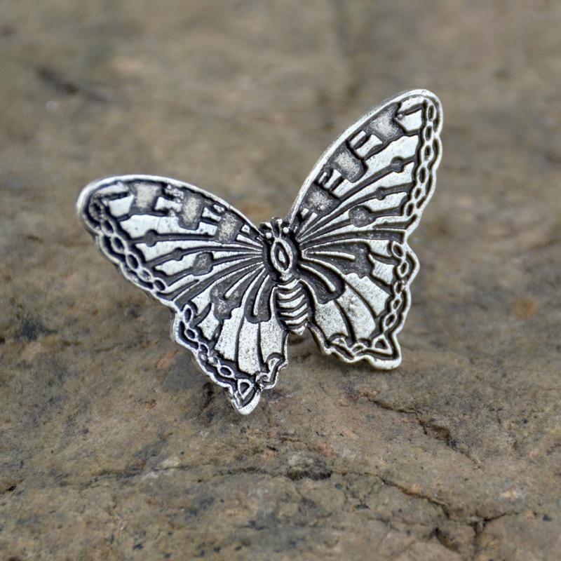 50pcs Boho Vintage papillon doigt Knuckle anneaux pour les femmes