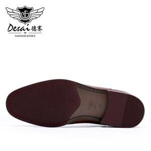 Image 5 - DESAI الصيف الفاخرة الايطالية حذاء من الجلد الأحذية مع أكياس مطابقة النساء المصممين