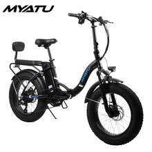 MYATUElectric Bike BAFANG 250W Beach Auxiliary Bicycle 36V10AH Electric Sand Car 26 Inch Electr CE
