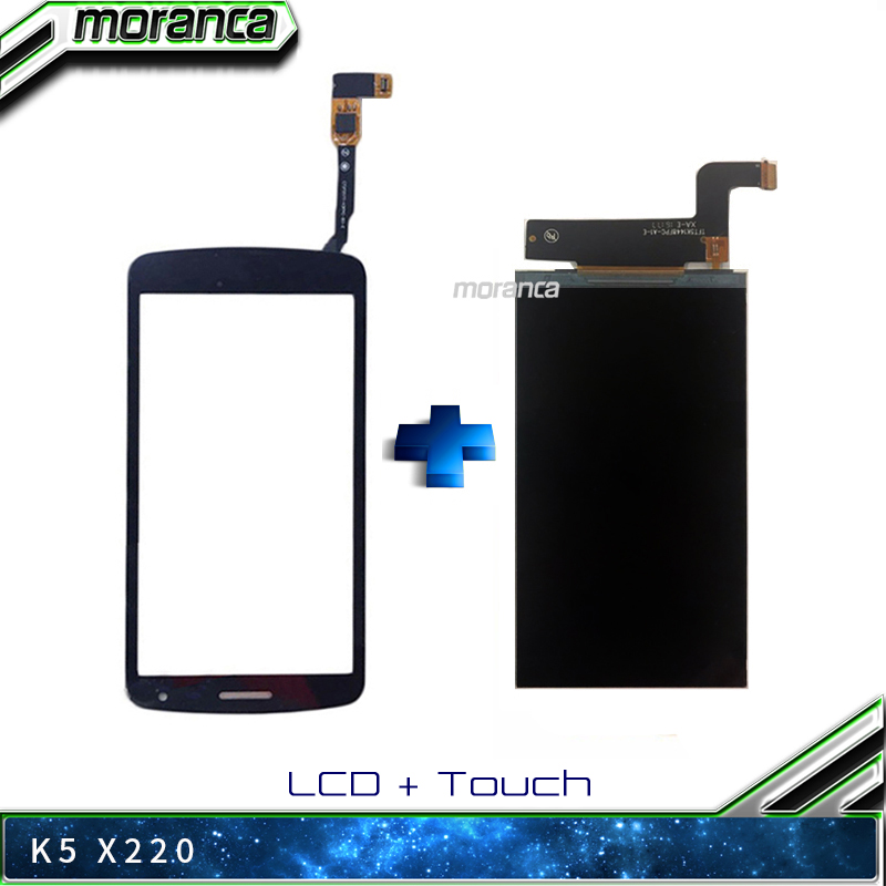 5.0 Inch K5 LCD Screen for LG K Series K5 X220 X220MB <font><b>X220DS</b></font> LCD Display Screen AAA Quality 100% Tested Assembly Repair Parts image